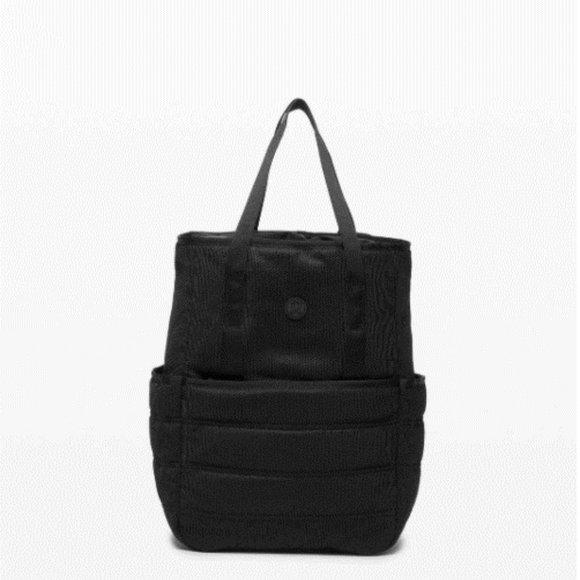 NWT Lululemon Dash All Day Backpack (Black)